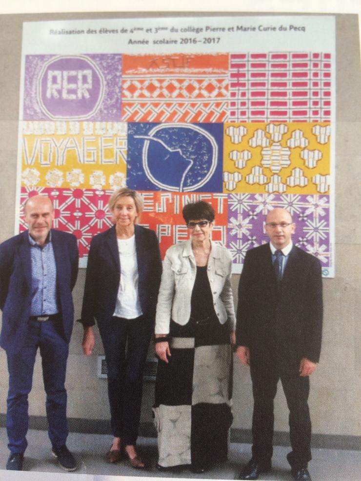 Exposition artistique – Blog d\'infos du collège PMC du Pecq