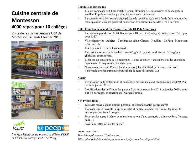 Newsletter sur la restauration scolaire – Blog d\'infos du collège ...