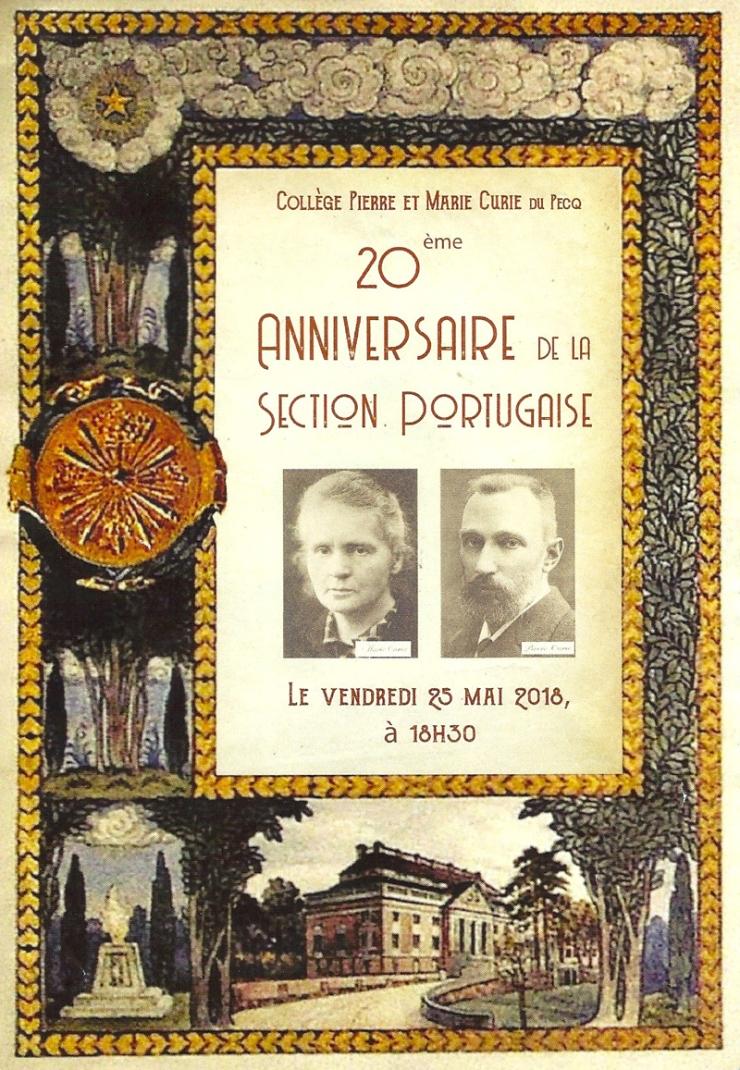 Les « 20 ans » de la Section Portugaise au Collège PMC. – Blog d ...